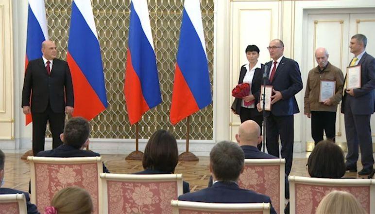 Ректор НГТУ получил премию правительства - фото 2