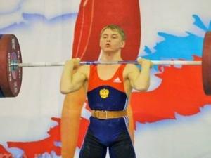 Нижегородский тяжелоатлет Кирилл Остеев стал лучшим на первенстве России