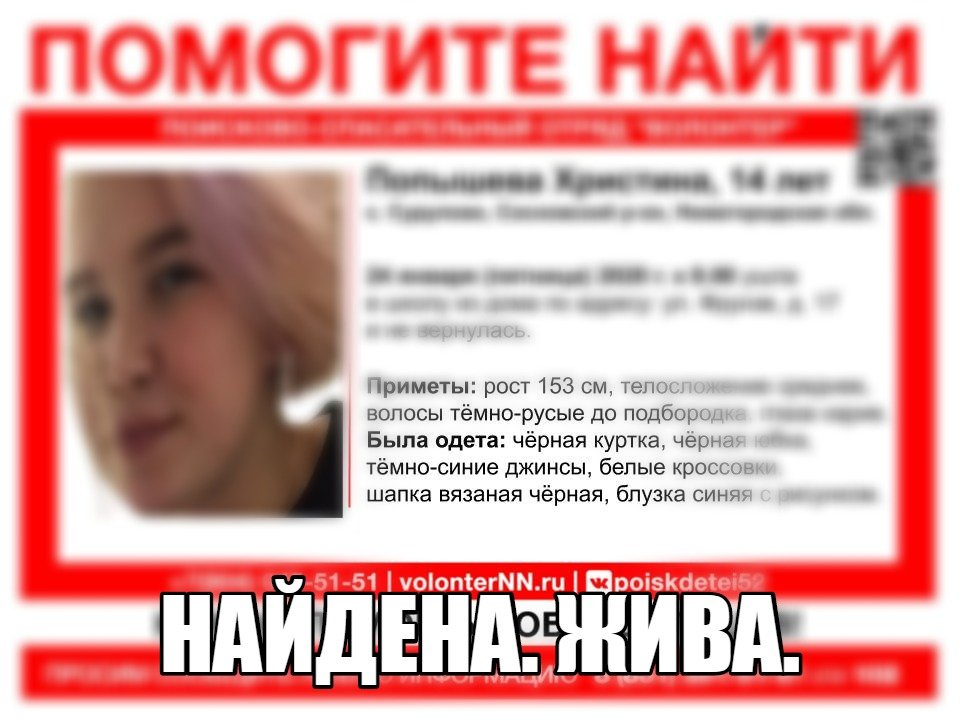 Пропавшую по дороге в школу девочку несколько часов искали в Сосновском районе - фото 1