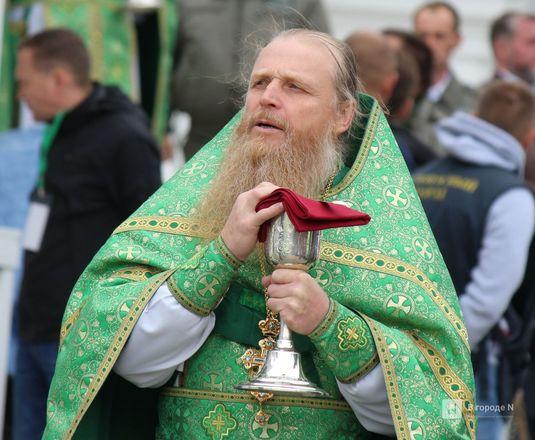 Патриарх Кирилл возглавил божественную литургию в Дивееве  - фото 26