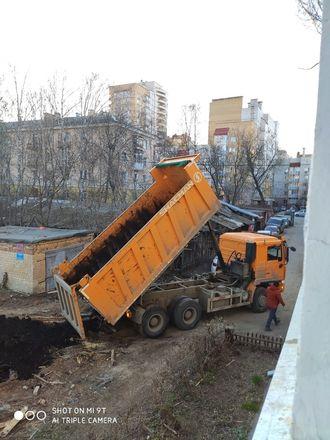 Строители инфекционного госпиталя раскурочили двор жителям с улицы Генкиной - фото 5