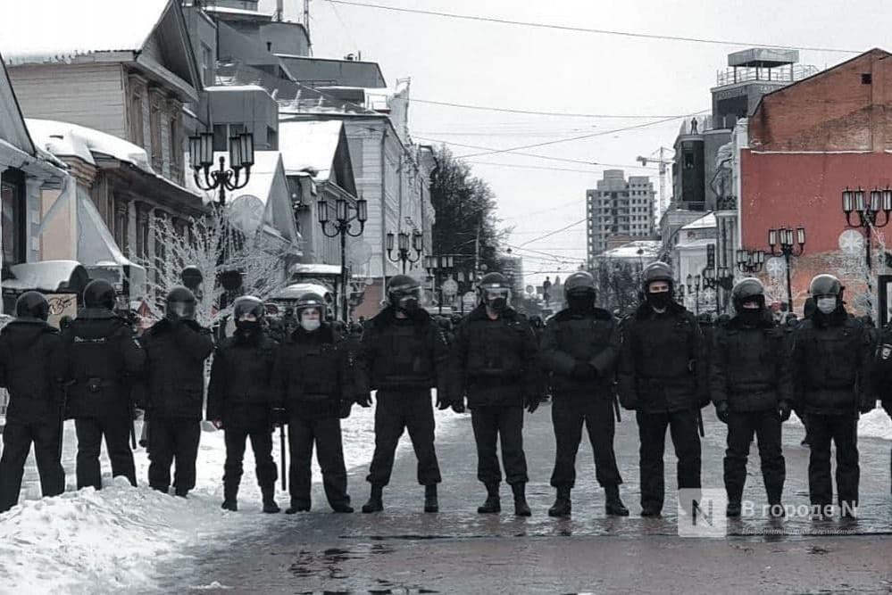 182 человека задержаны в Нижнем Новгороде на протестной акции - фото 1