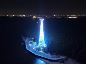 «Россети» приглашают посетить Шуховскую башню на Оке в Нижегородской области