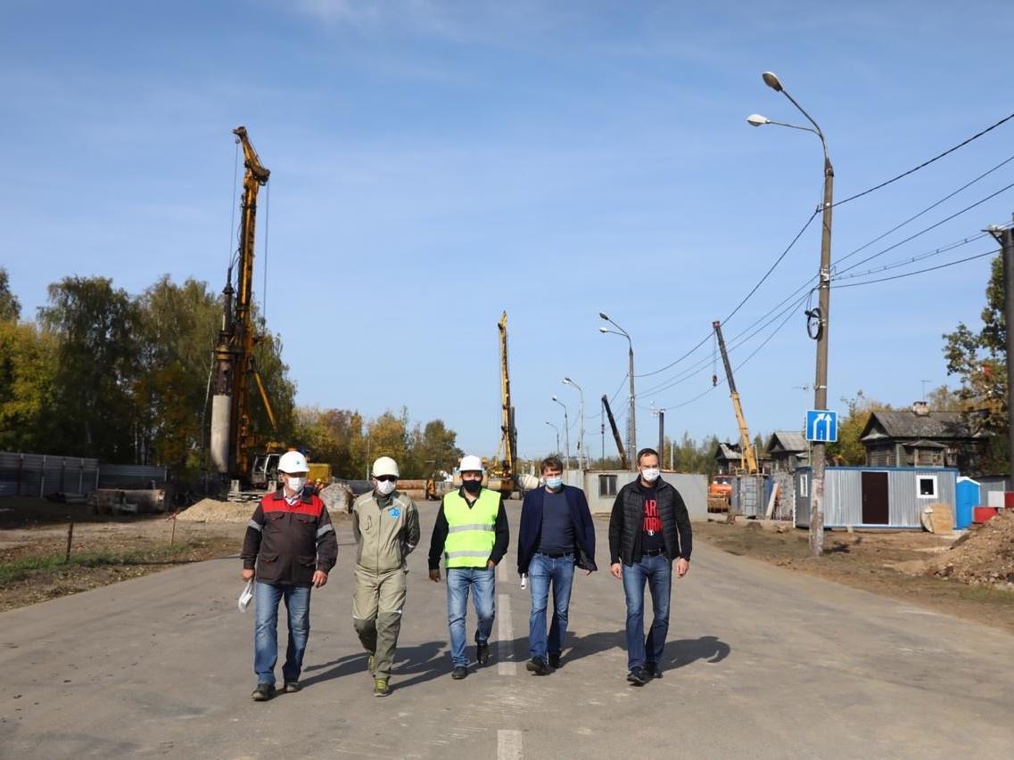 Строительство транспортной развязки на улице Циолковского планируют завершить раньше 2022 года - фото 1
