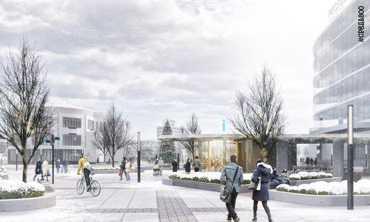 Концепцию благоустройства площади перед железнодорожным вокзалом представили нижегородцам - фото 3