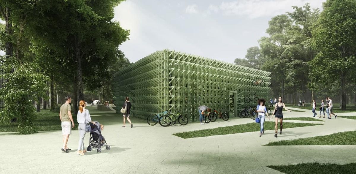Установка пункта проката началась в парке «Швейцария» - фото 1