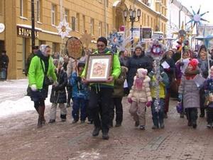 Святочное шествие состоялось в Нижнем Новгороде