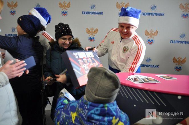 Ирина Слуцкая с ледовым шоу открыла площадку «Спорт Порт» в Нижнем: показываем, как это было - фото 50