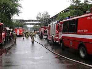 На ГАЗе рассказали о причинах пожара в литейном цеху