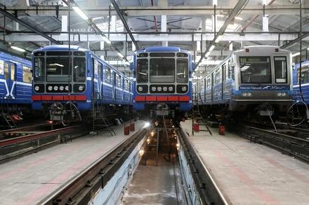 Еще 10 вагонов вернутся в нижегородскую подземку до конца года