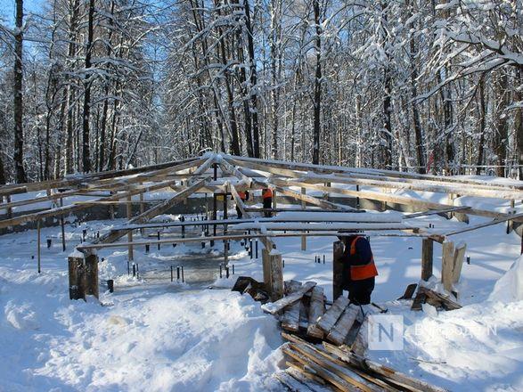 Более 240 рабочих благоустраивают нижегородскую «Швейцарию» - фото 42