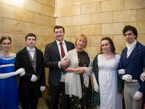 Глеб Никитин с супругой посетили «Ночь музеев» в Нижнем Новгороде (ФОТО)