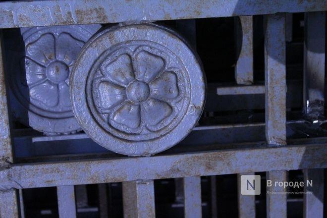 Как идет реставрация исторической ограды парка «Швейцария» - фото 40