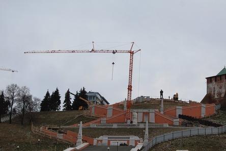 Стал известен подрядчик по проведению ремонта Чкаловской лестницы в Нижнем Новгороде