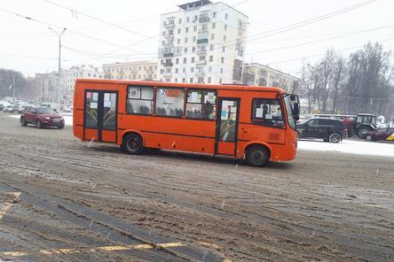 Четыре маршрутки перестанут ездить в Нижнем Новгороде с 27 декабря