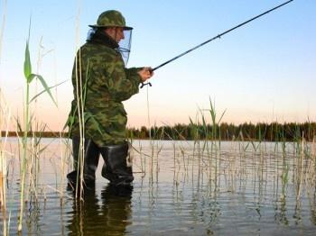 рыбалка в деревне троицкое