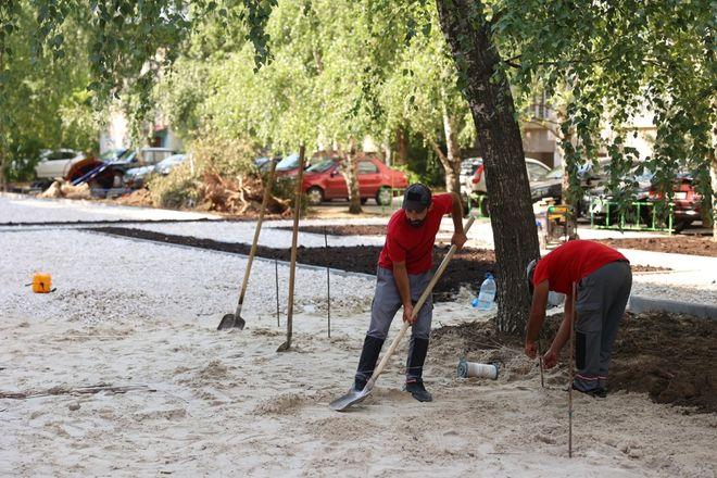 Благоустройство дворов в Дзержинске выполнено на 50% - фото 3