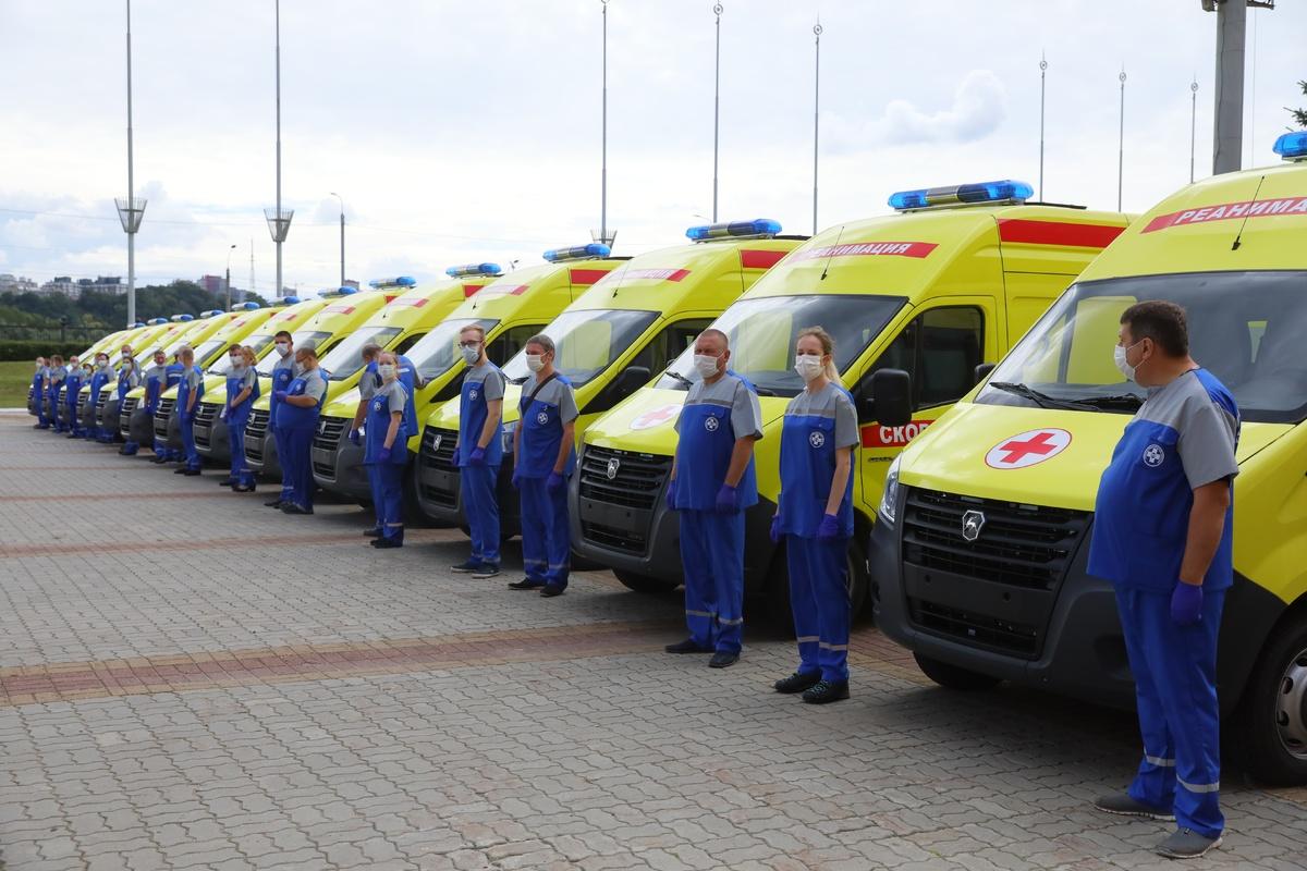 27 автомобилей скорой помощи получили нижегородские больницы