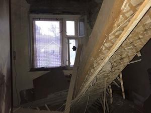 Потолок обвалился в жилом доме в Кстове