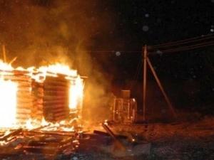 Россиянин сжег храм в знак протеста против застройки парка