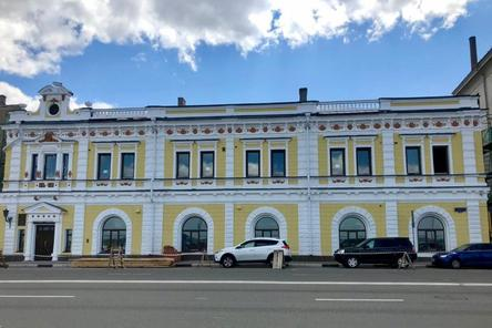 Фасад особняка Бугрова отреставрировали в Нижнем Новгороде