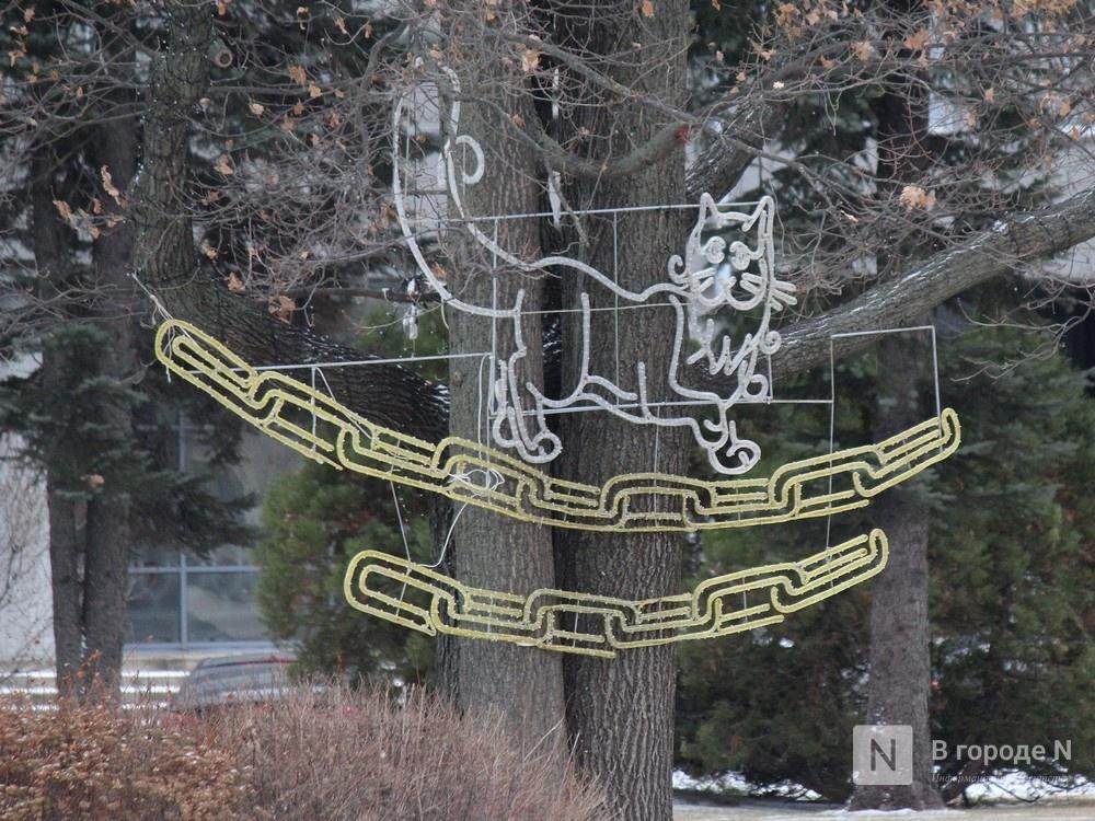 Нижегородский кремль начали украшать к Новому году - фото 2