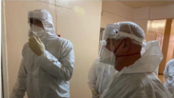 Глеб Никитин посетил «красную зону» в Кстовской ЦРБ