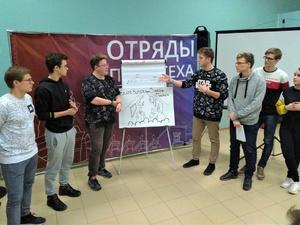 Студотряды политеха прошли «Школу опытного бойца»
