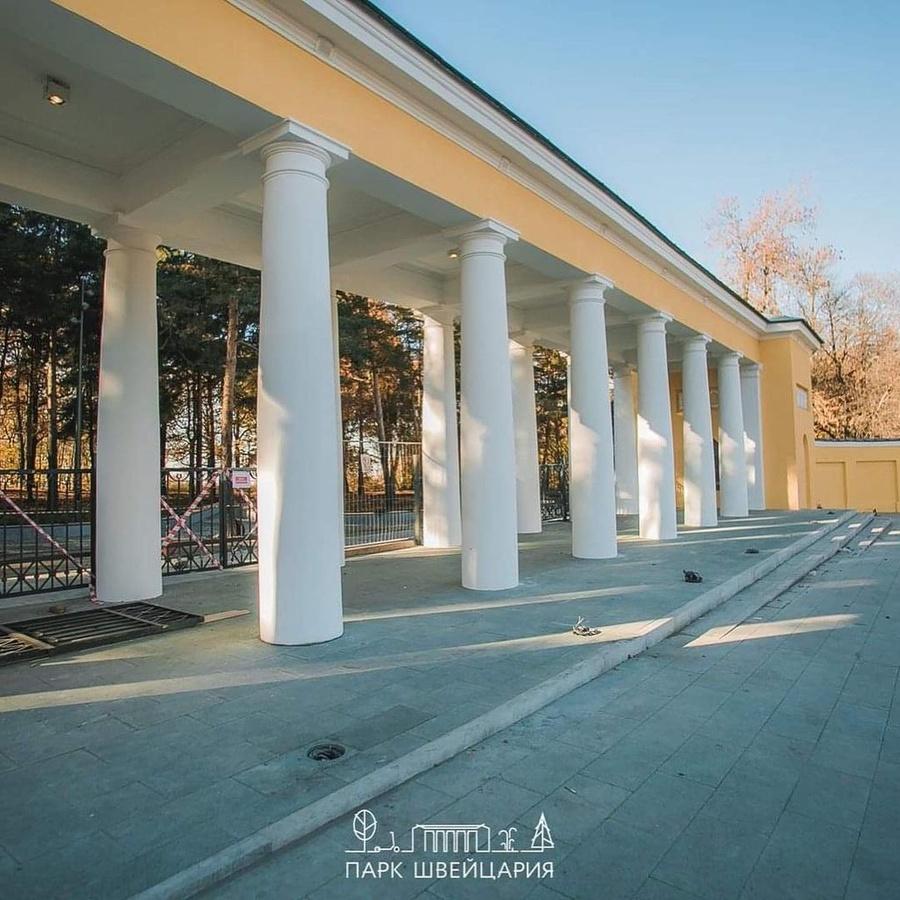 Новые ворота установили на входе в нижегородский парк «Швейцария» - фото 1