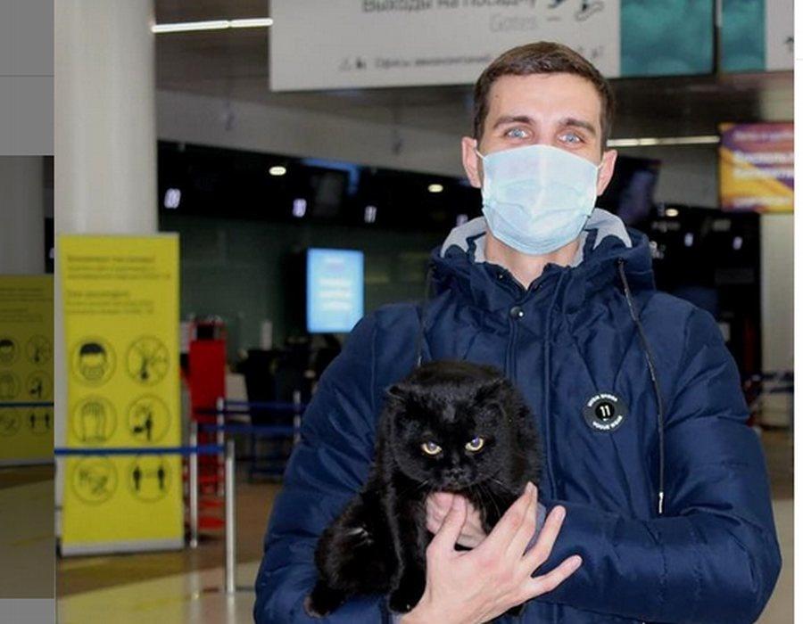 Необычный пассажир прибыл в нижегородский аэропорт - фото 1