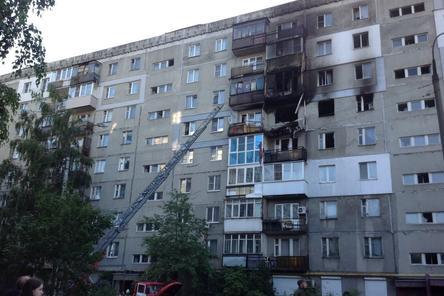 Взорвавшийся из-за газа дом на улице Краснодонцев снесут