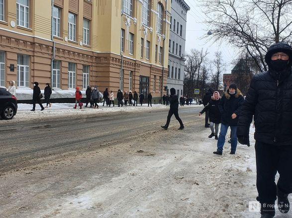 Протестующих вытеснили с площади Минина и Пожарского - фото 4