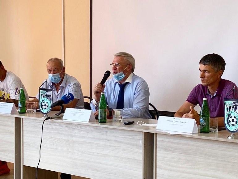 Евгений Люлин: «Химик» должен войти в своей подгруппе в первую шестерку клубов по итогам первенства - фото 1