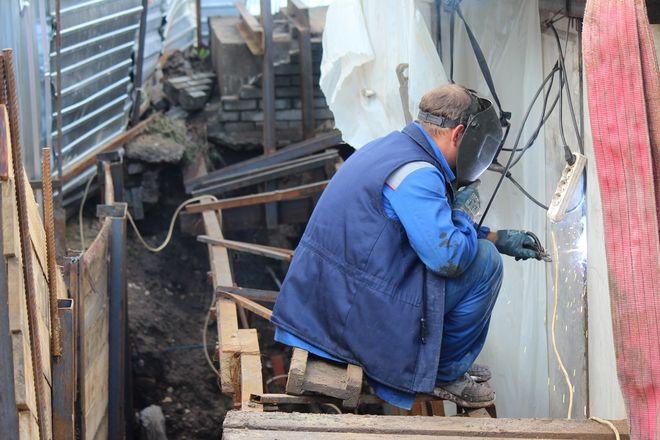 Столетний коллектор на улице Ковалихинской отремонтируют до конца года - фото 11
