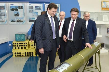 АПЗ с рабочим визитом посетил временно исполняющий обязанности губернатора Нижегородской области Глеб Никитин