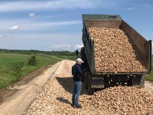 Два участка дороги в Гагинском районе отремонтируют до конца октября