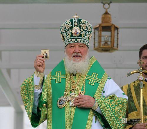 Патриарх Кирилл возглавил божественную литургию в Дивееве  - фото 23