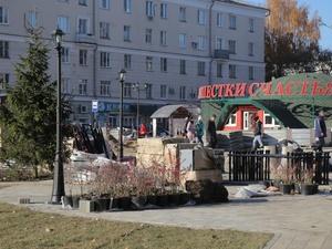 Основные работы по благоустройству завершены на Сормовском пятачке