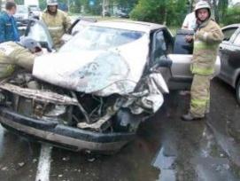Один человек погиб и пятеро пострадали в ДТП в поселке Большое Мурашкино