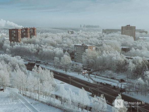 Как Нижний Новгород пережил аномально морозные дни  - фото 10