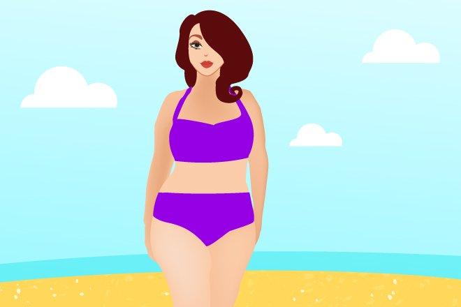 5 моделей купальников, которые подойдут женщинам рlus size - фото 2