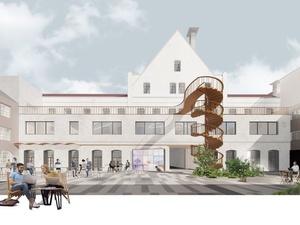 Стало известно, как изменится здание фабрики «Маяк» на Нижне-Волжской набережной