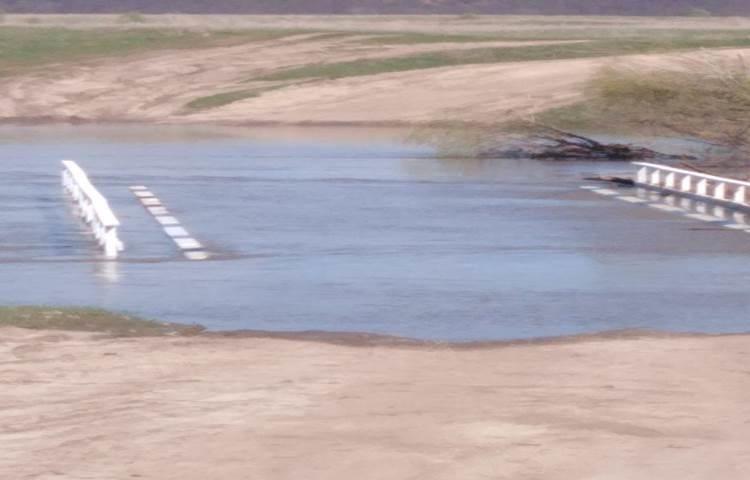 Два низководных моста затопило в Гагинском районе - фото 1