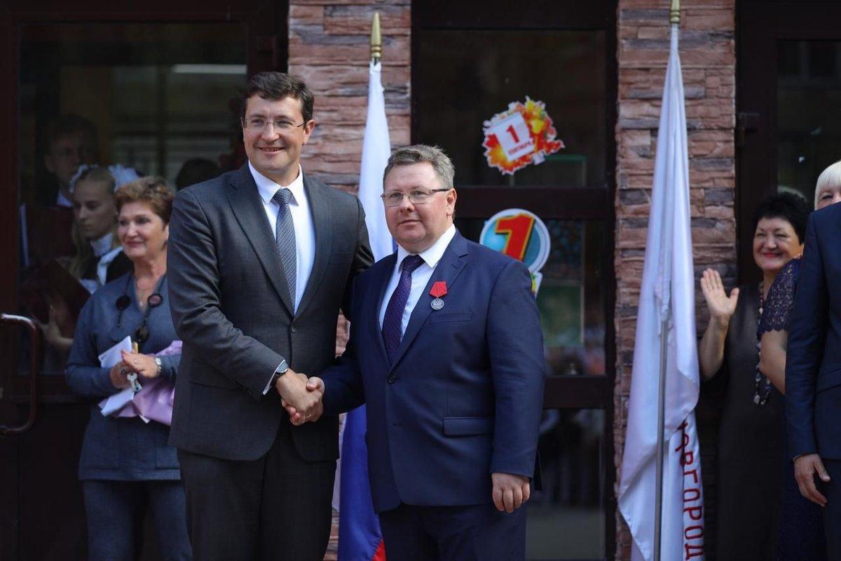 Путин наградил директора нижегородской школы № 187 - фото 1
