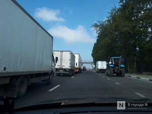 Массовая авария с грузовиками произошла в Чкаловском районе