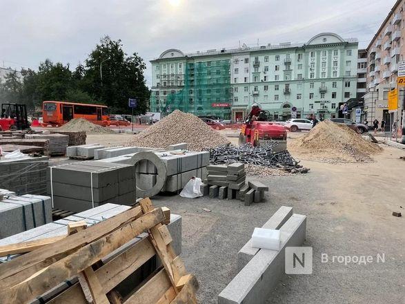 Салют над стройкой: каковы шансы подрядчиков благоустроить Нижний Новгород до юбилея - фото 20