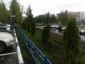 Новые парковочные места появились во дворах Приокского района