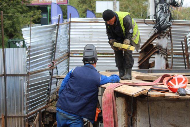 Столетний коллектор на улице Ковалихинской отремонтируют до конца года - фото 27