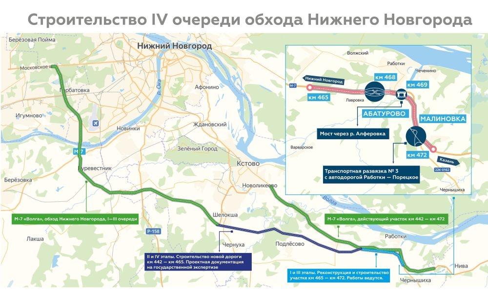 Петля, труба и пять мостов: какой будет четвертая очередь обхода Нижнего Новгорода - фото 8