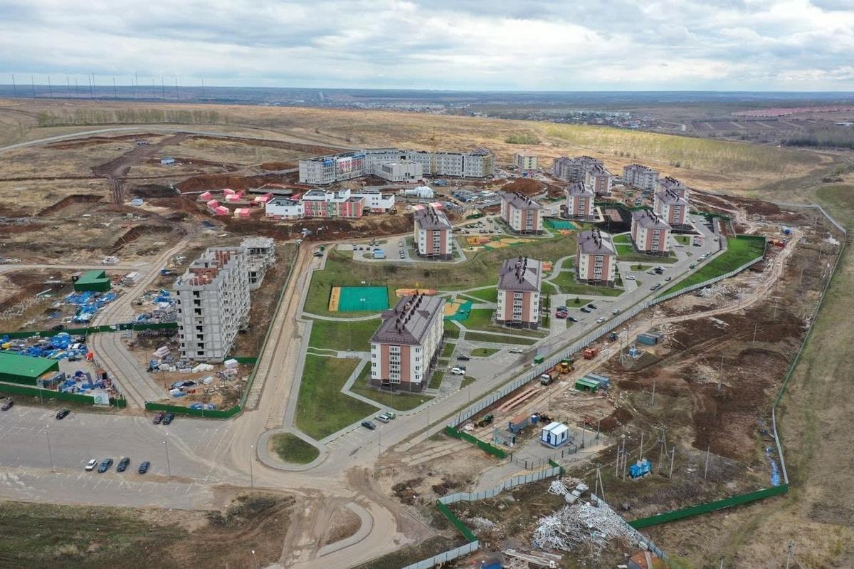 ЖК «Новинки Smart City» в Нижнем Новгороде сняли с высоты - фото 1